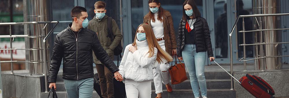 przewóz osób do Anglii, koronawirus covid-19